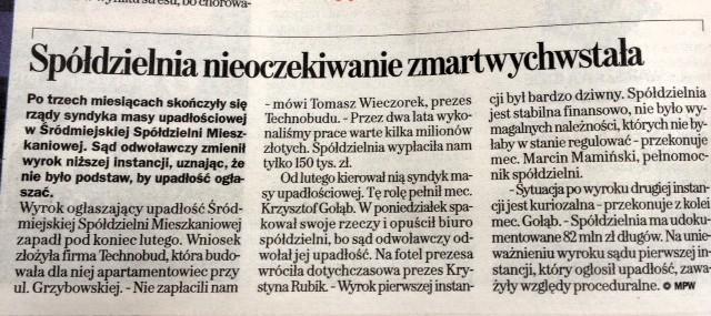 Gazeta Wyborcza 2014-05-14